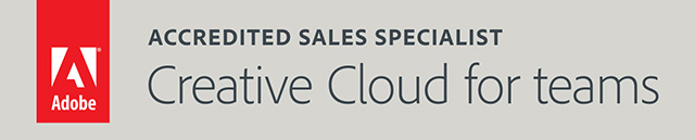 Accredited Sales Specialist Creative Cloud for teams